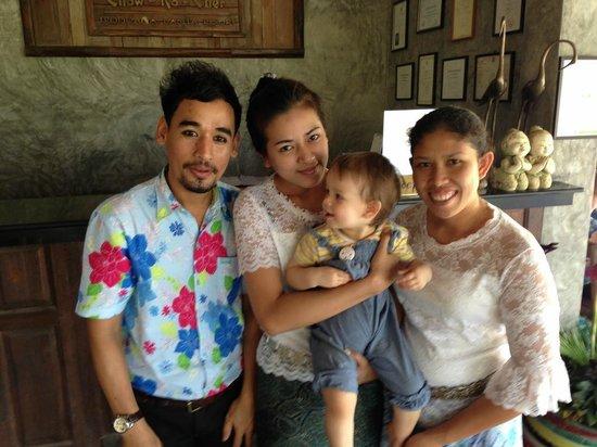 Chaw Ka Cher Tropicana Lanta Resort : Staff
