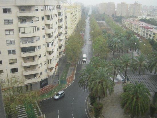 NH Collection Sevilla: Vue de ma chambre au 7e étage