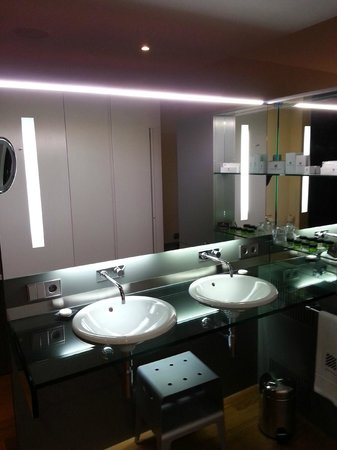 Hotel Reina Petronila : Baño