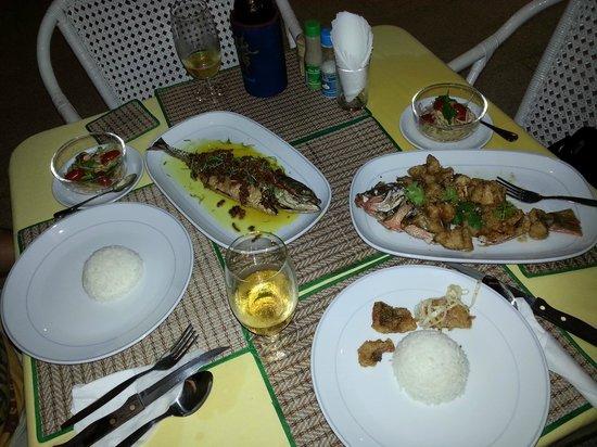 Pen Villa Hotel : Tolles Abendessen
