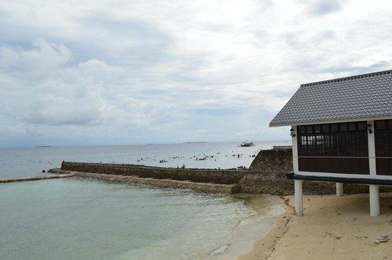 Plantation Bay Resort And Spa: beach area