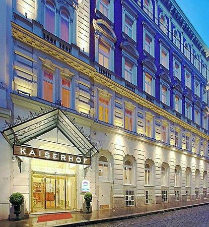 Best Western Premier Kaiserhof Wien: KAISERHOF Fassade