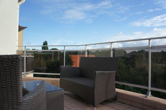 Hotel La Cote D'Argent: terrasse 3ème étage