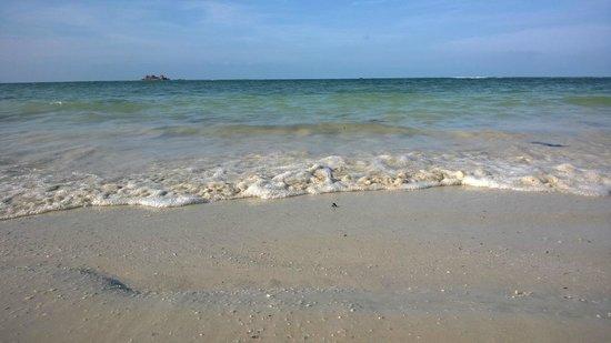 Nirwana Gardens - Nirwana Resort Hotel: This is the view of the beach, notice the tar on the beach
