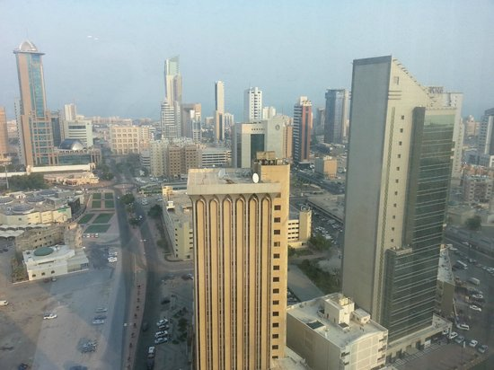 Courtyard Kuwait City: view from my room