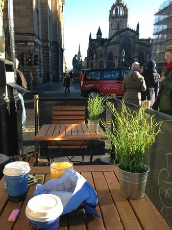 Royal Mile (Königliche Meile): Royal mile coffee break
