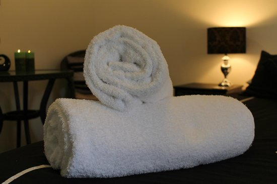 Buller Bridge Motel : Large Fluffy Bath Towels