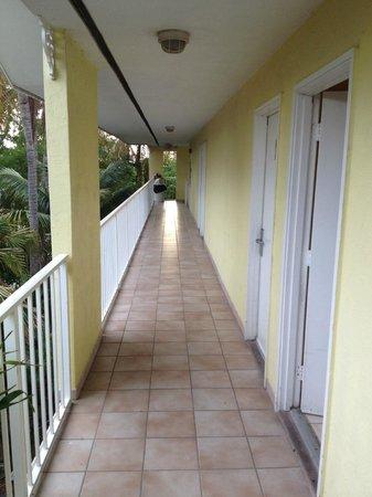 Bayside Inn Key Largo: второй этаж