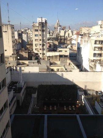 Novotel Buenos Aires: Vistas desde el piso 7, piscina