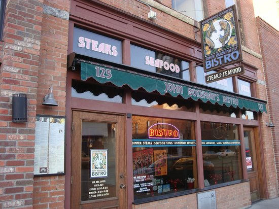 Downtown Bozeman : One of Many Bars/Bistros