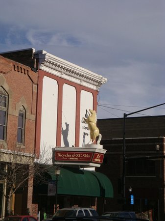 Downtown Bozeman: The Dancing Horse on Main Street