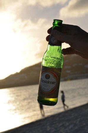 Great Bay Beach: una birra al tramonto