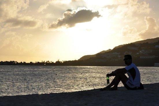 Great Bay Beach: un tramonto particolare