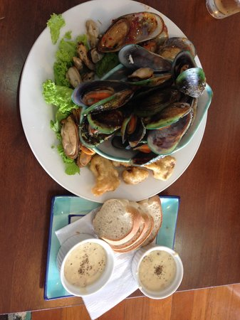 The Mussel Pot: food