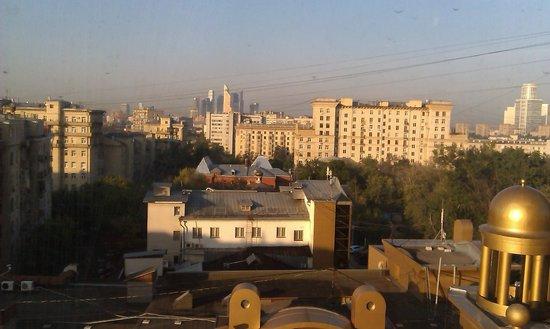 Radisson Blu Belorusskaya Hotel: Вид из номера