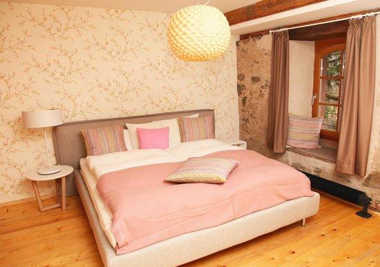Rainhof Scheune: Schlafzimmer Rainhof Suite