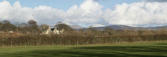 Is Helen Farm: View from Is-Helen Farm cottage