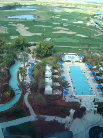 Omni Orlando Resort at Championsgate: view of lazy river and quiet pool