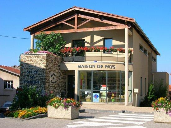Paysage monts du lyonnais photo de office de tourisme - Office du tourisme saint martin de re ...