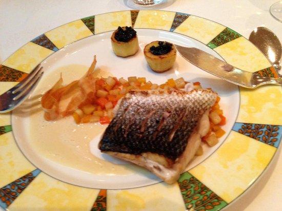 Les Berceaux: Fish Course