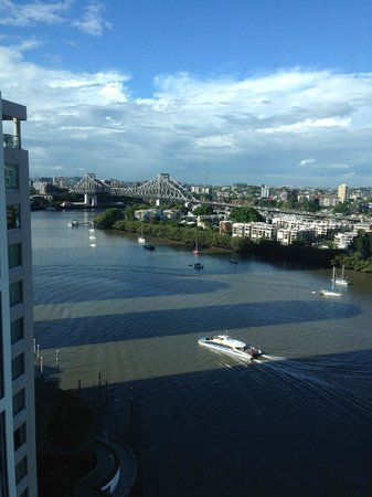 Stamford Plaza Brisbane: View from room 2104