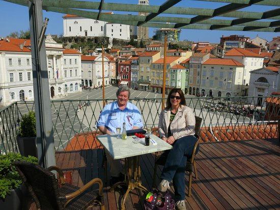 Hotel Tartini : On the roof march 2014