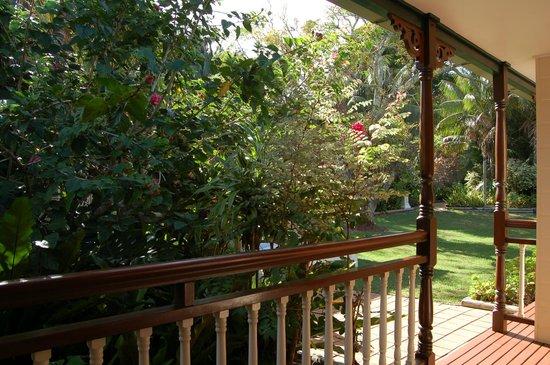 Lorhiti Apartments: Front Balcony