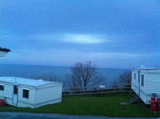 Sandaway Beach Holiday Park: Sea view from our caravan we were in number 32 :)