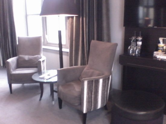 Malmaison Newcastle: Coffee time