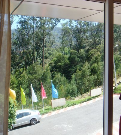 Accord Highland Hotel Ooty: Room window view