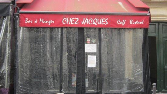 Chez Jacques: poussez la bâche !!