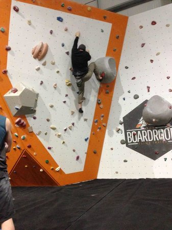 The Boardroom Climbing: Bouldering