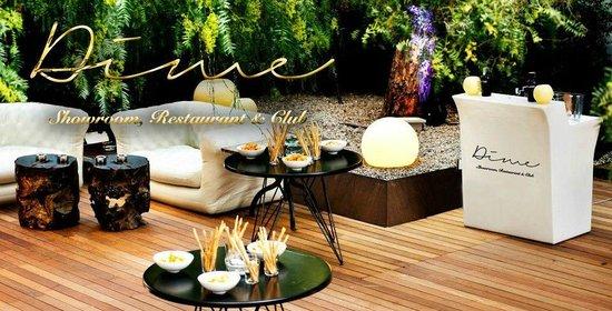 Terraza Terrace En Dime Restaurant Club Barcelona