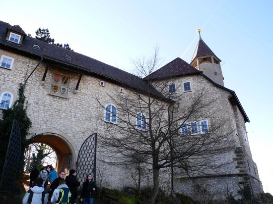 Burg Teck: Eingang