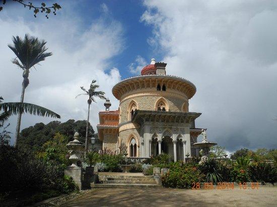 Parque de Monserrate: zicht op palacio