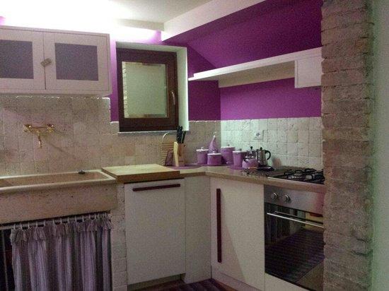 B&B and Apartments CasaVeraOrvieto: La cucina