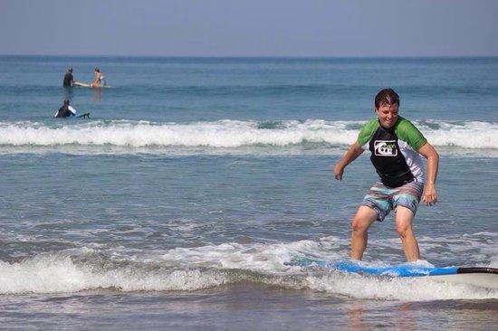 Desu de Bali Surf - Surfing Courses: keep going :)