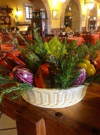 La Cavola d'Oro: cesto di verdure
