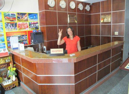 Sea Wonder Hotel: reception