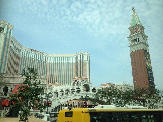 The Venetian Macao Resort Hotel : The Venetian