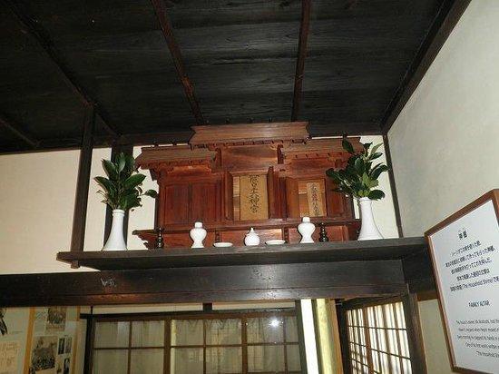 Yakumo Koizumi Old House in Kumamoto: 神棚