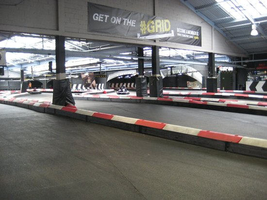 ‪Teamsport Indoor Karting Docklands‬
