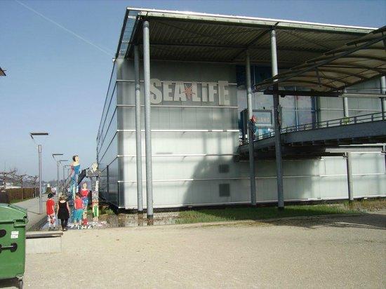 Eingangsbereich, SEA LIFE Konstanz