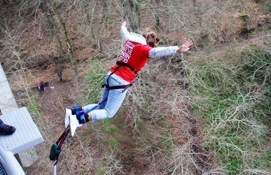 Highland Fling Bungee : My jump