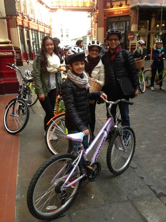 BrakeAway Bike Tours: Diagon Alley