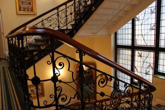 Best Western Karl Johan Hotell : Лестница в отеле