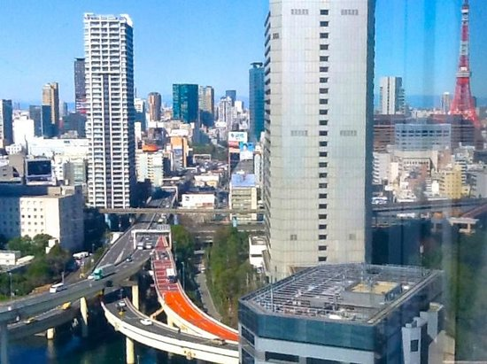 InterContinental Hotel Tokyo Bay : View from seaside room
