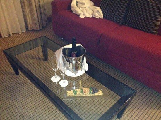 Hilton Prague: Yummy Surprise!!!