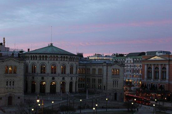 Best Western Karl Johan Hotell : Вид из окна