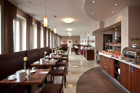 Novum Hotel Eleazar Hamburg City Center : Frühstücksraum
